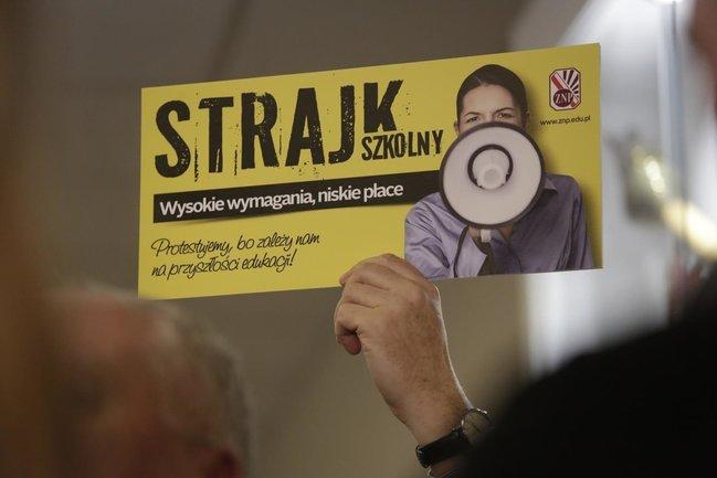 strajk nauczycieli - ZNP