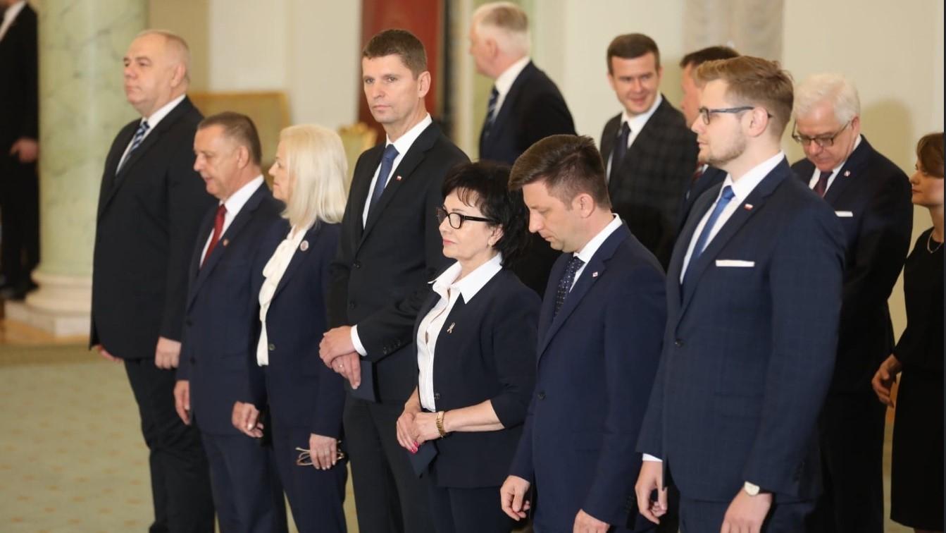 rekontrukcja rządu nowi ministrowie - @MSWiA_GOV_PL
