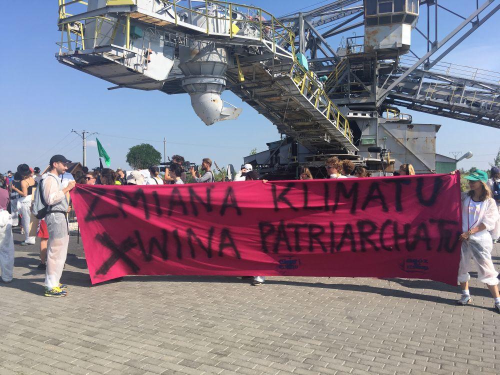 protest ekolodzy kopalnia konin 1 - Sławomir Zasadzki