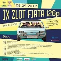 8 WRZEŚNIA, IX ZLOT FIATA 126p.