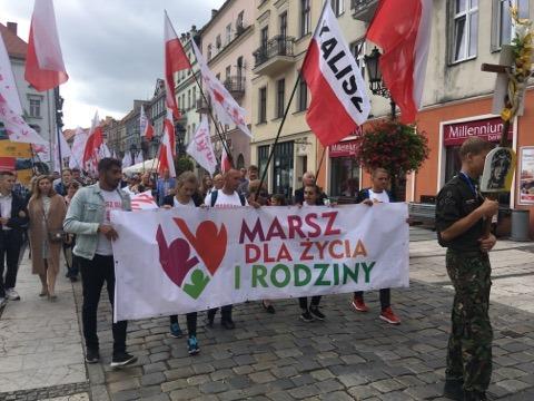 marsz dla życia kalisz 8 - Danuta Synkiewicz