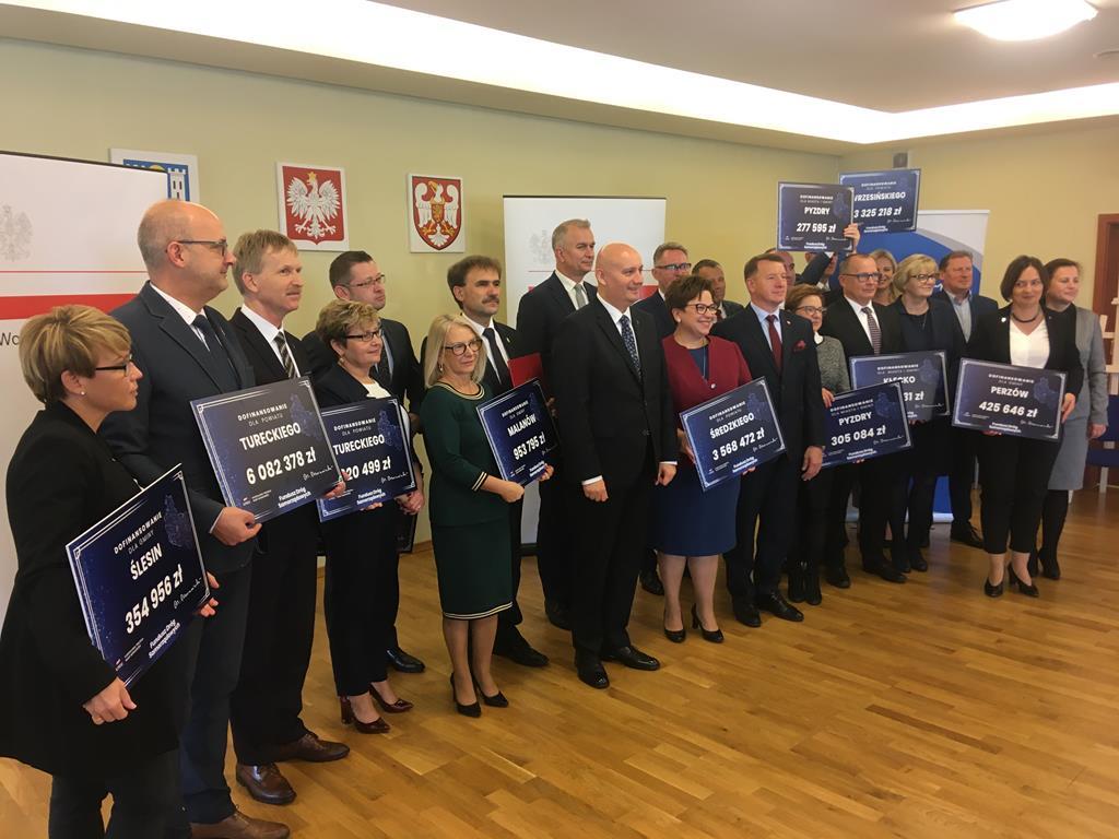 wojewoda fundusz dróg samorządowych FDS środa - Rafał Regulski