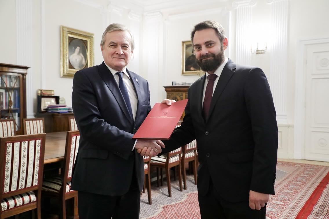Piotr Bernatowicz i Piotr Gliński - Ministerstwo Kultury i Dziedzictwa Narodowego