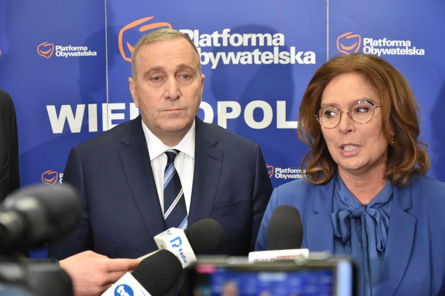 grzegorz schetyna małgorzata kidawa błońska po ko platforma obywatelska - Wojtek Wardejn - Radio Poznań