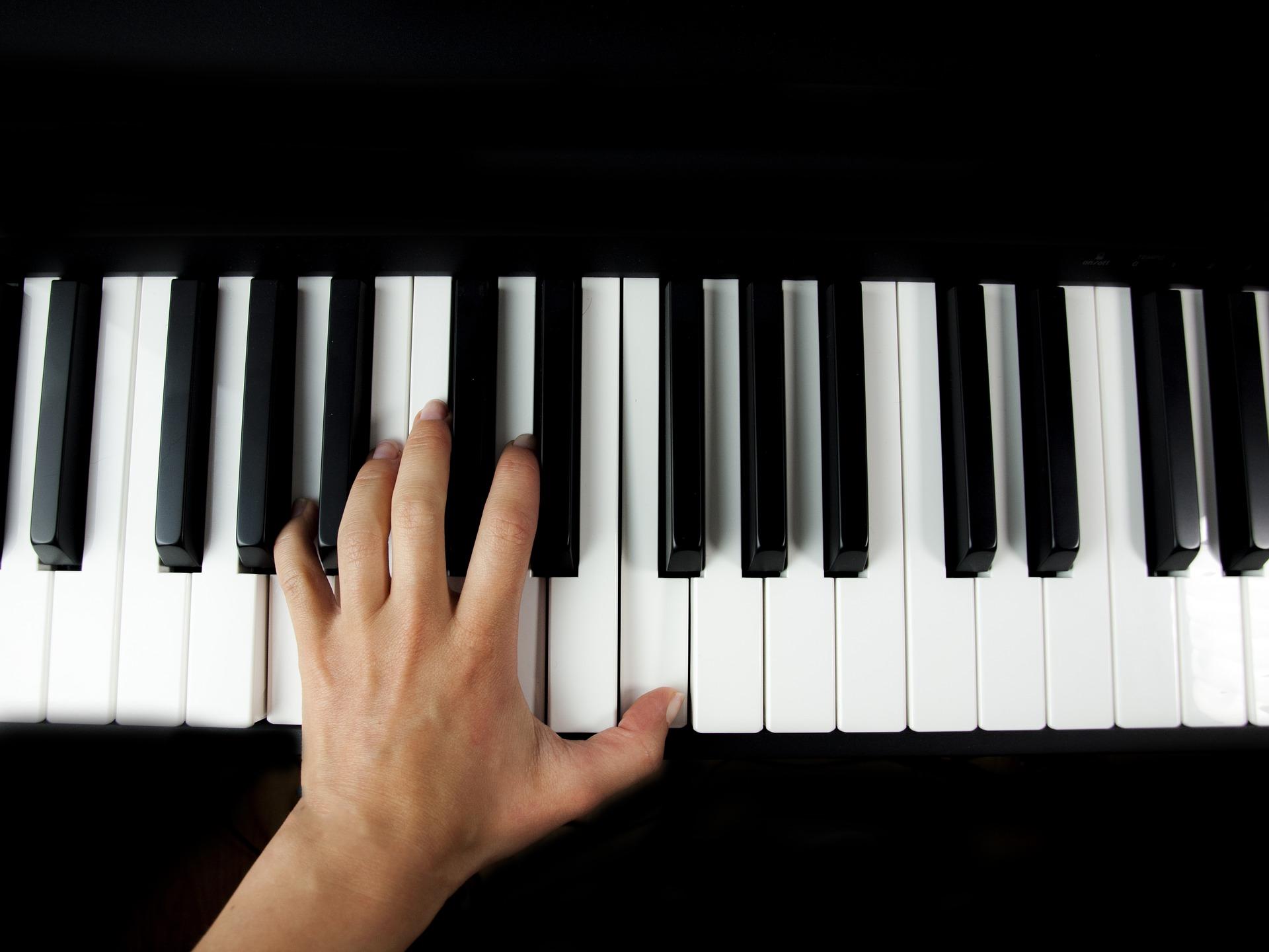 pianino - pixabay