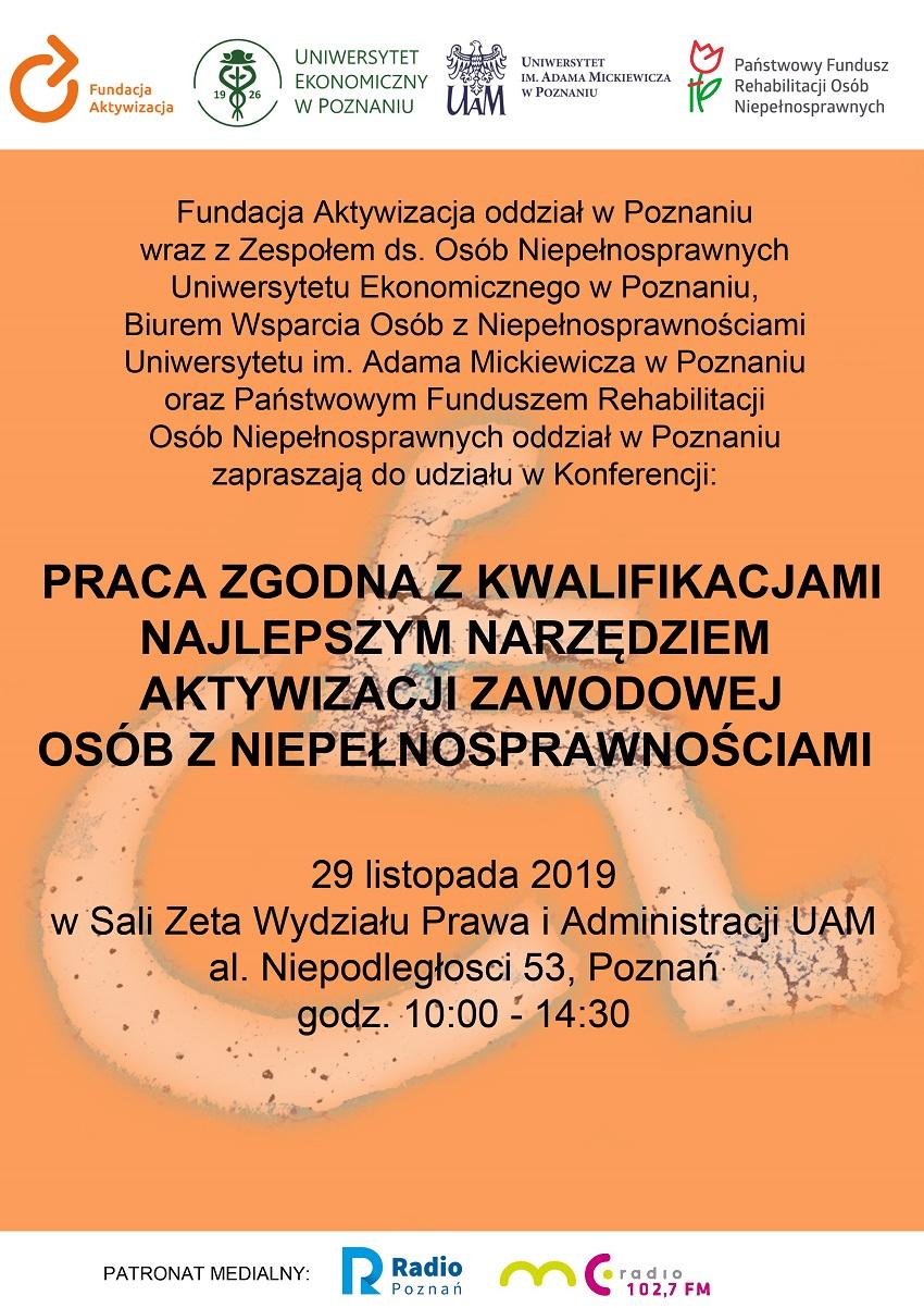 plakat konferencja - Materiały prasowe