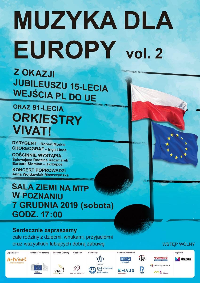 Plakat_Muzyka dla Europy vol. 2_2019 - Materiały prasowe