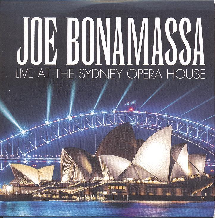 JOE BONAMASSA – Live At The Sydney Opera House - Okładka