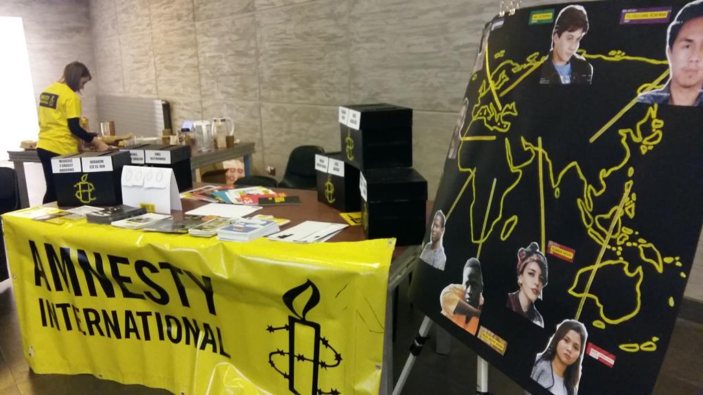 24-godzinny Maraton Pisania Listów Amnesty International - Magdalena Konieczna