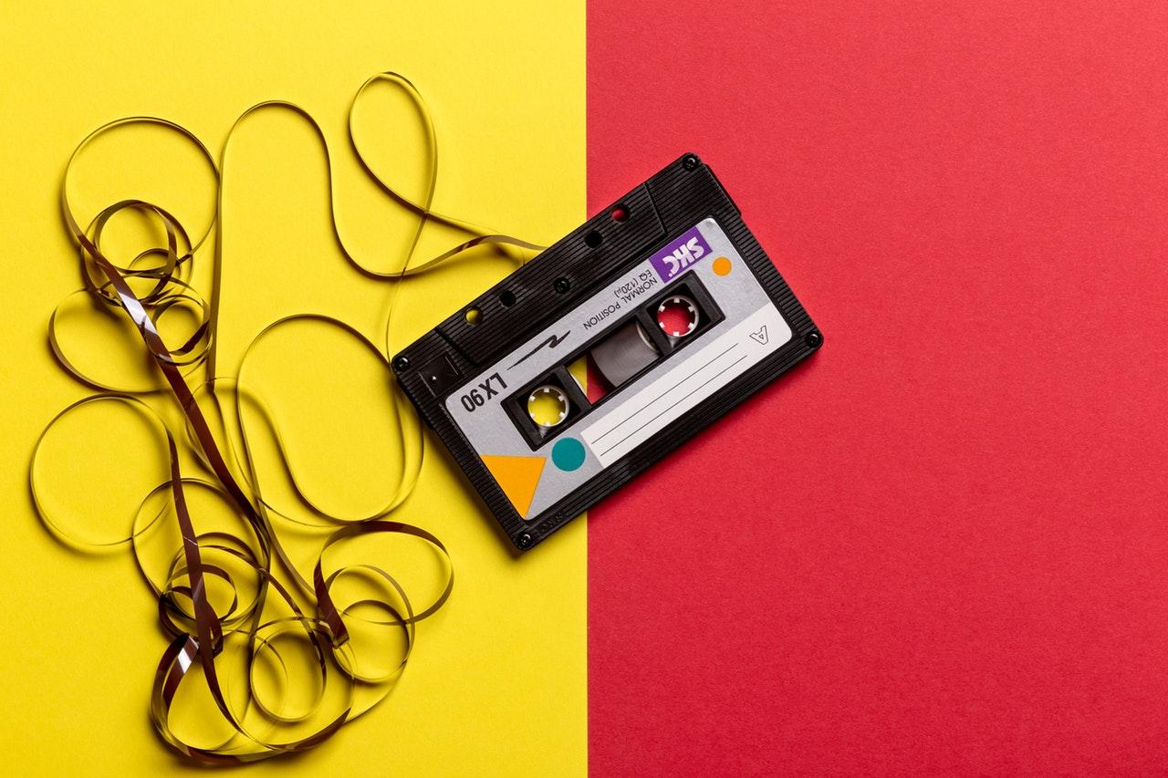kaseta muzyka  - Pexels