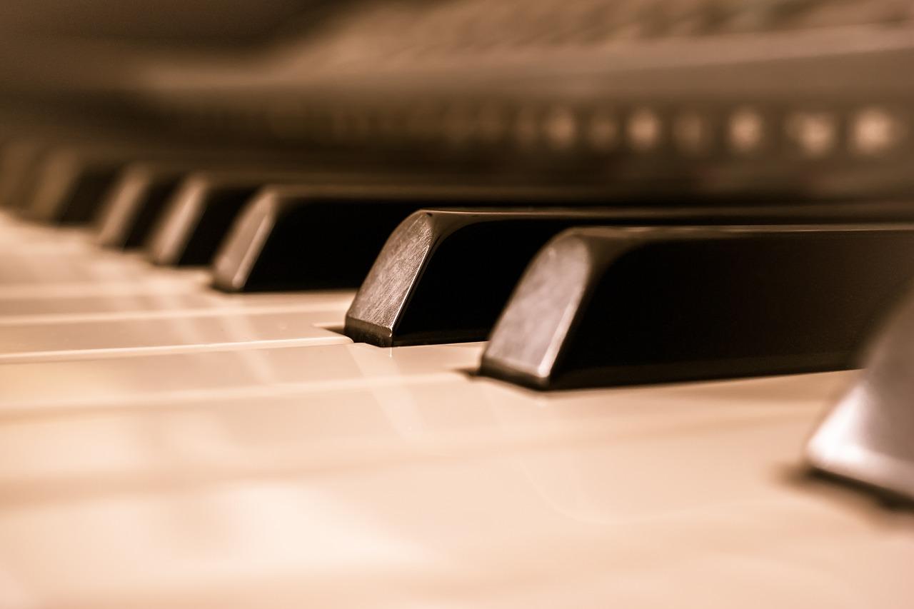 pianino stock muzyka - Pixabay