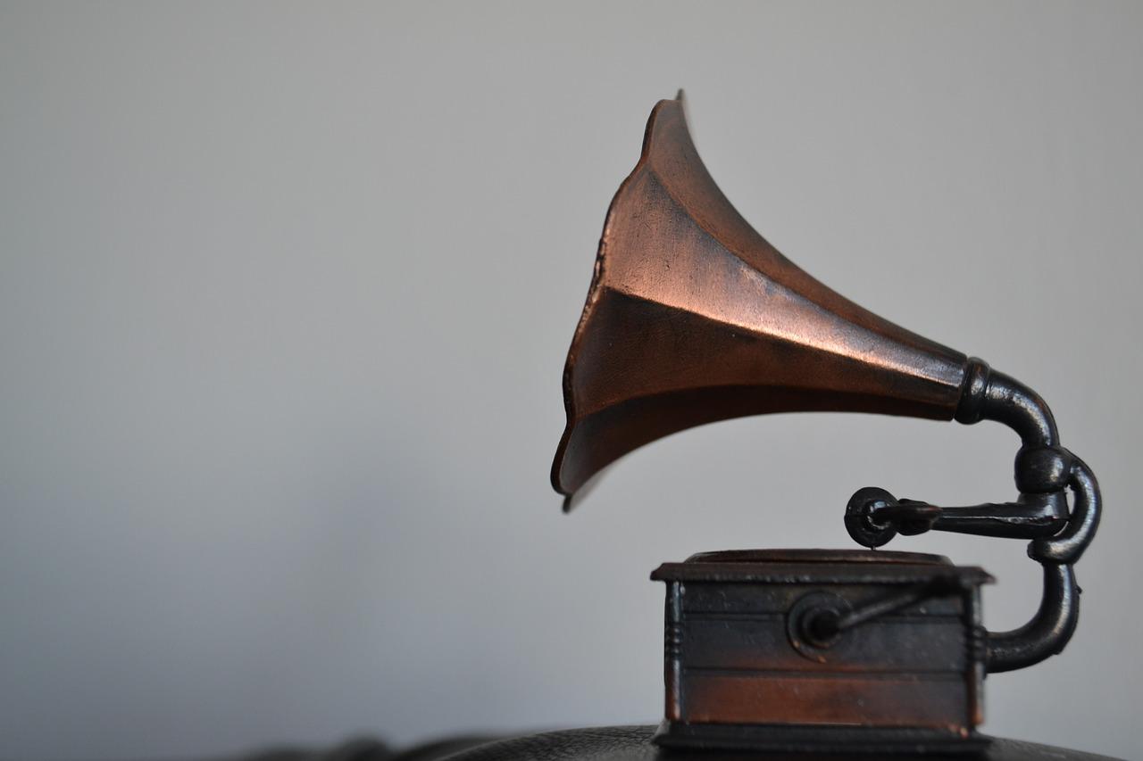 gramofon muzyka stock - Pixabay