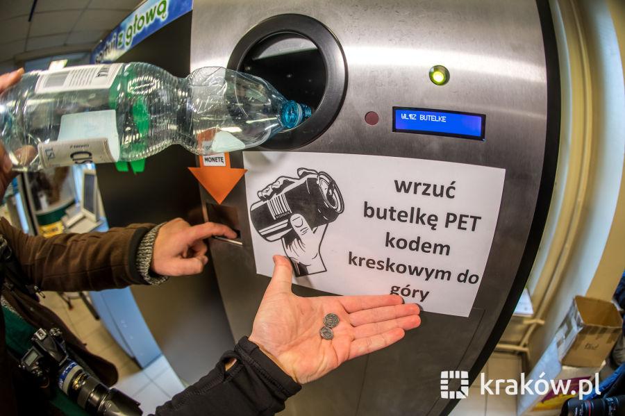 automat na butelkę peka skup butelek plastikowych - krakow.pl
