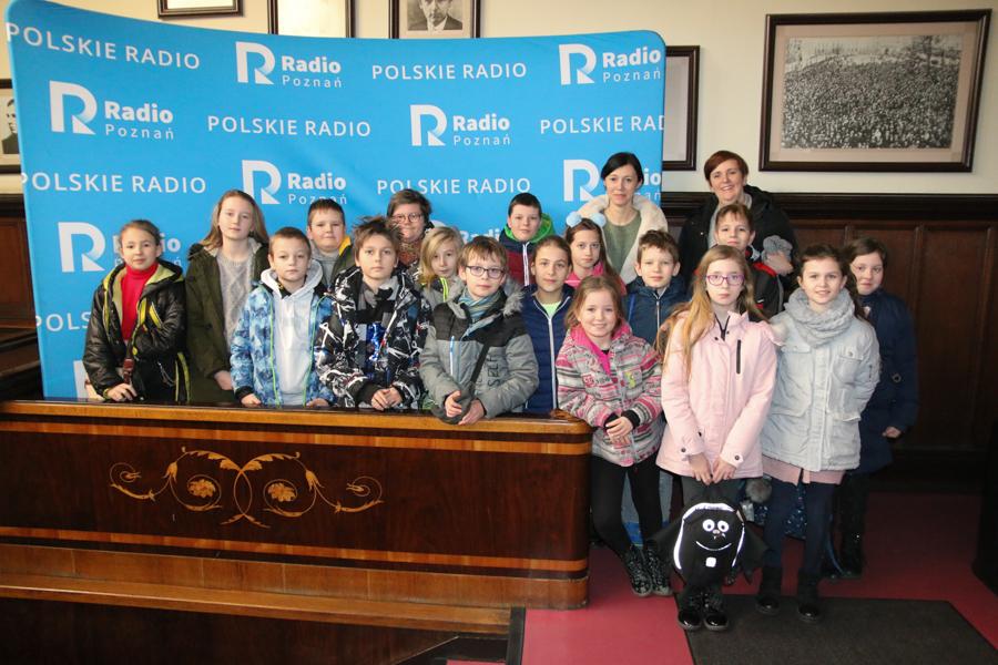 dzieci ze środy wielkopolskiej w radiu  - Leon Bielewicz
