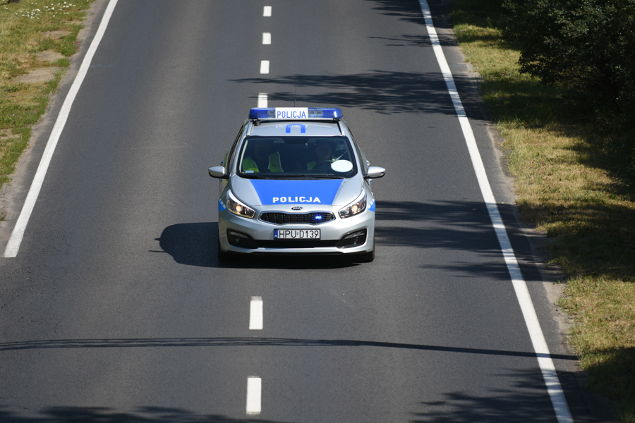 policja radiowóz  - Wojtek Wardejn