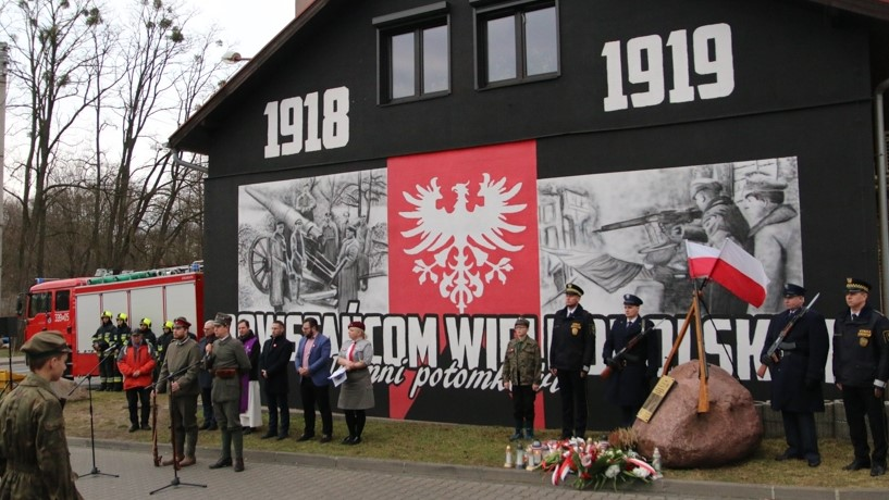 101. rocznicę zakończenia Powstania Wielkopolskiego uczcili mieszkańcy podpoznańskiego Czerwonaka - Leon Bielewicz
