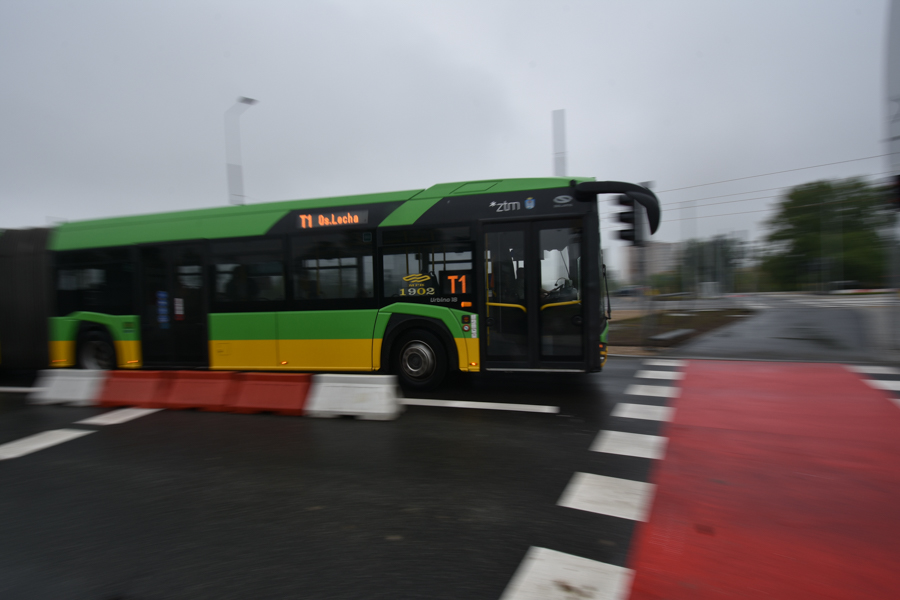autobus poznań mpk  - Wojtek Wardejn