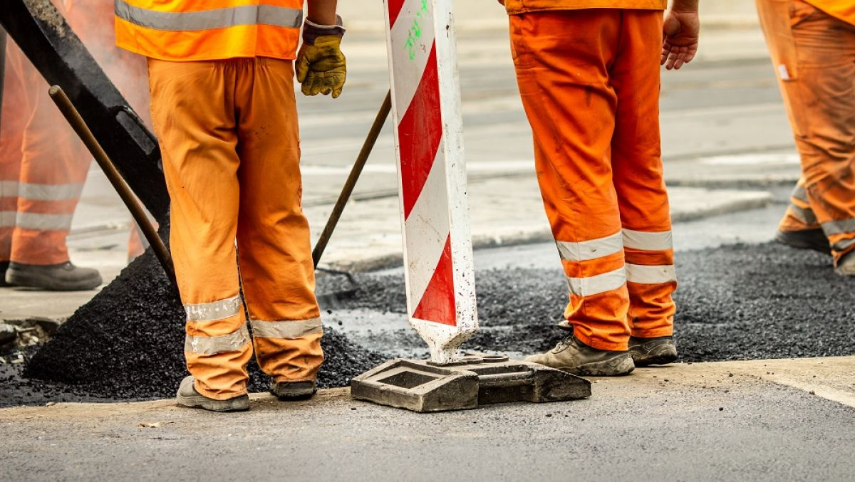 remont droga asfalt roboty drogowe - ZDM