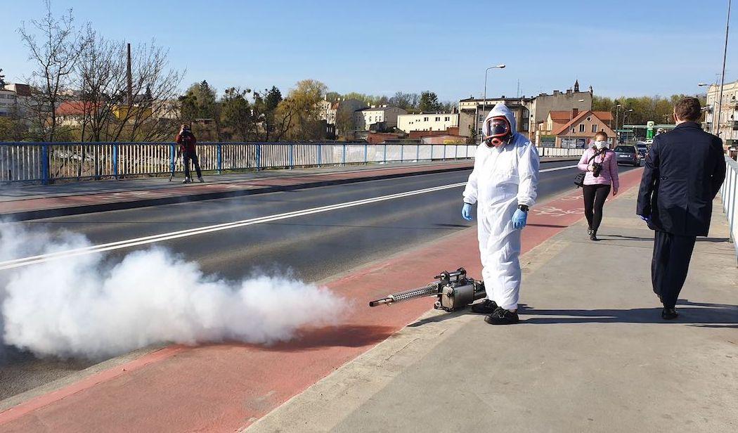 dezynfekcja dezynfekowanie ozonowanie śrem - Miasto Śrem