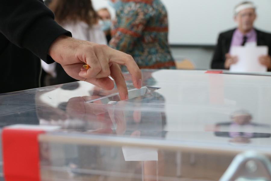 wybory głosowanie urna wybory prezydenckie 2020 - Leon Bielewicz - Radio Poznań