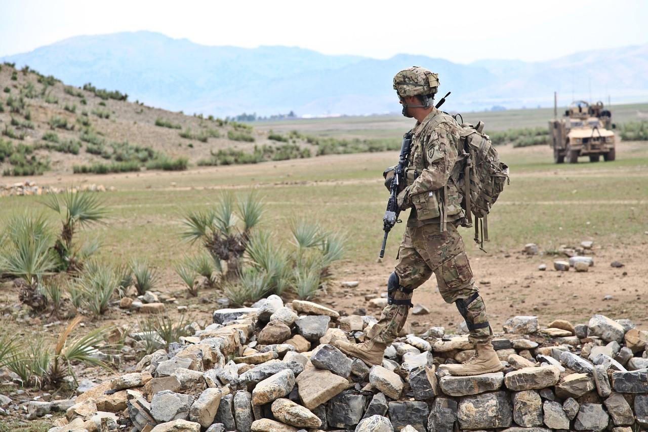 żołnierz afganistan - Pixabay