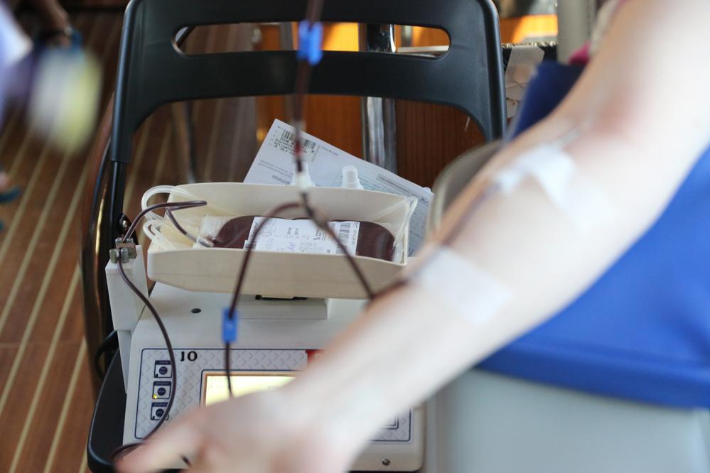 pobieranie krwi krew krwiobus - Leon Bielewicz