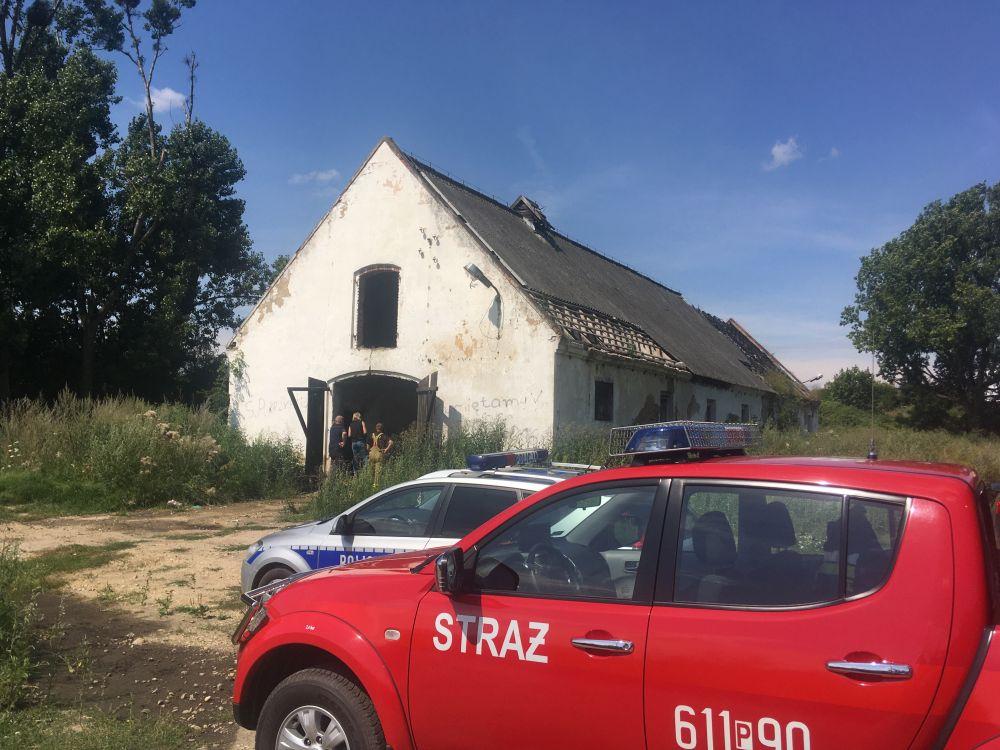 pożar pustostanu Środa wlkp - Rafał Regulski