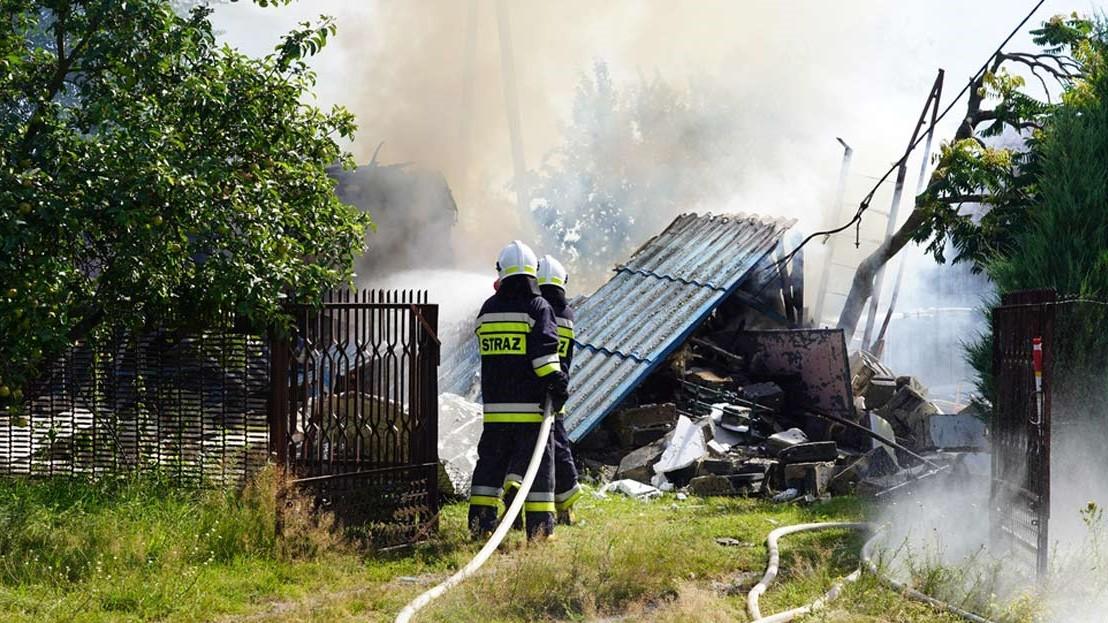 wybuch gazu zagaj gmina dobra - www.iturek.net