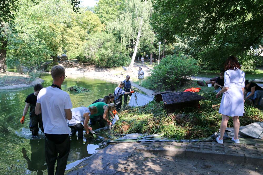 pływające ogrody park wilsona - Leon Bielewicz - Radio Poznań