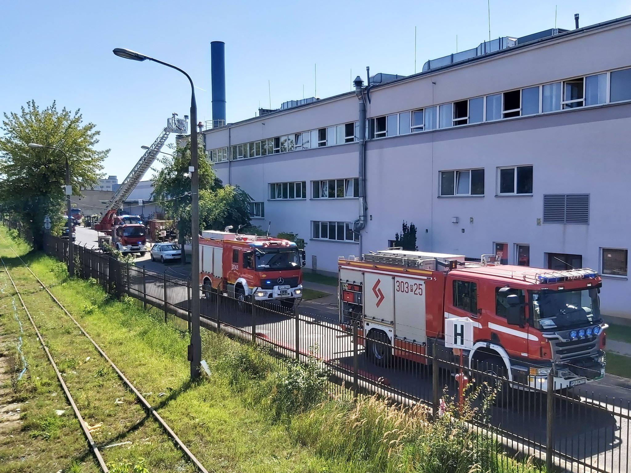 pożar gdyńska straż pożarna - Krzysztof Polasik - Radio Poznań