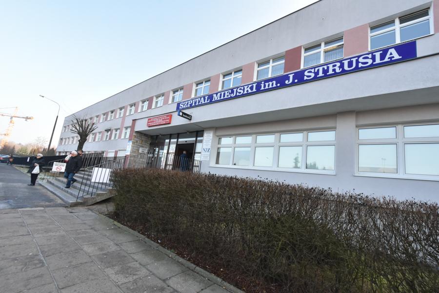 szpital im strusia szwajcarska  - Wojtek Wardejn