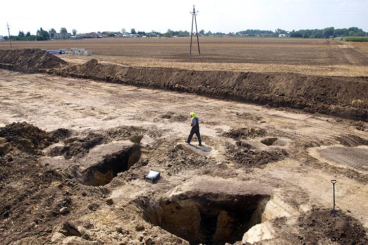 nowa wieś badania archeologiczne  - WZDW