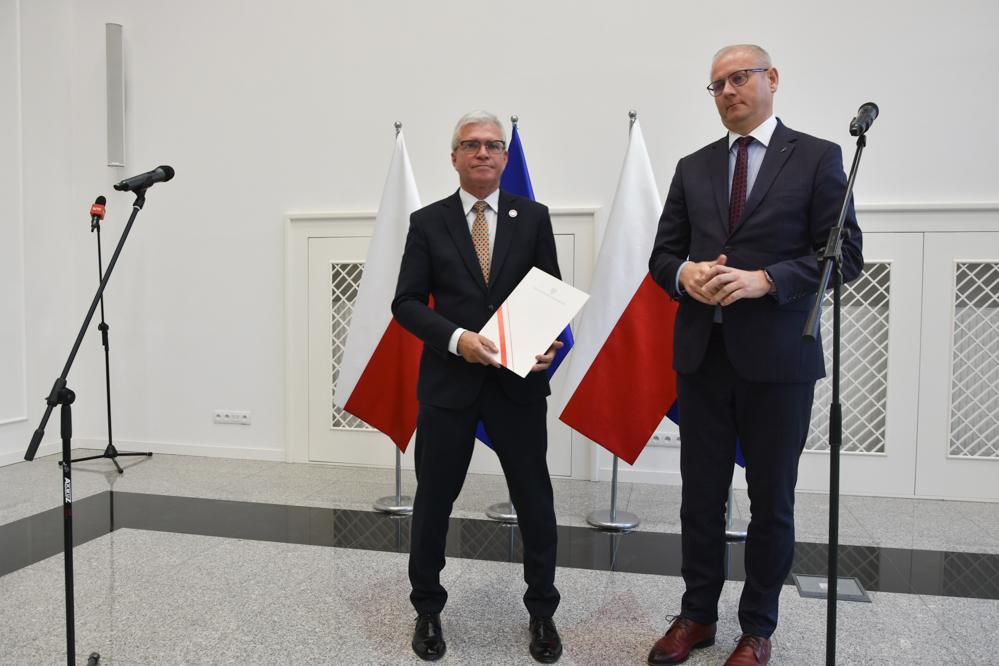 Robert Gaweł wielkopolski kurator oświaty - Wojtek Wardejn