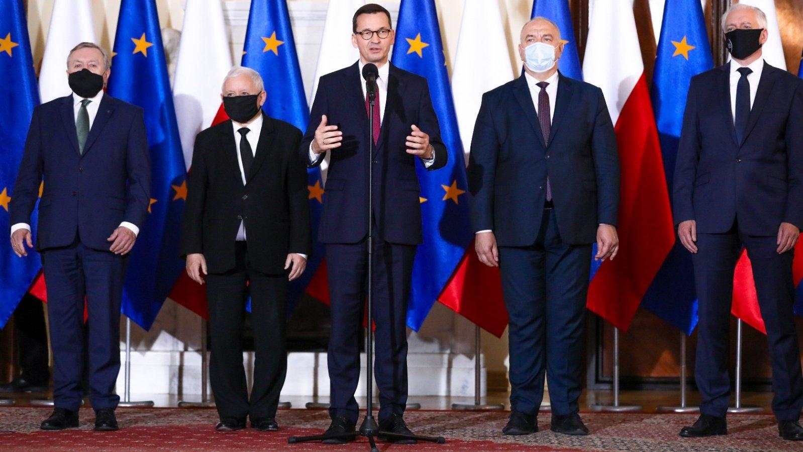 Premier przedstawił nowy skład rządu  - KPRM