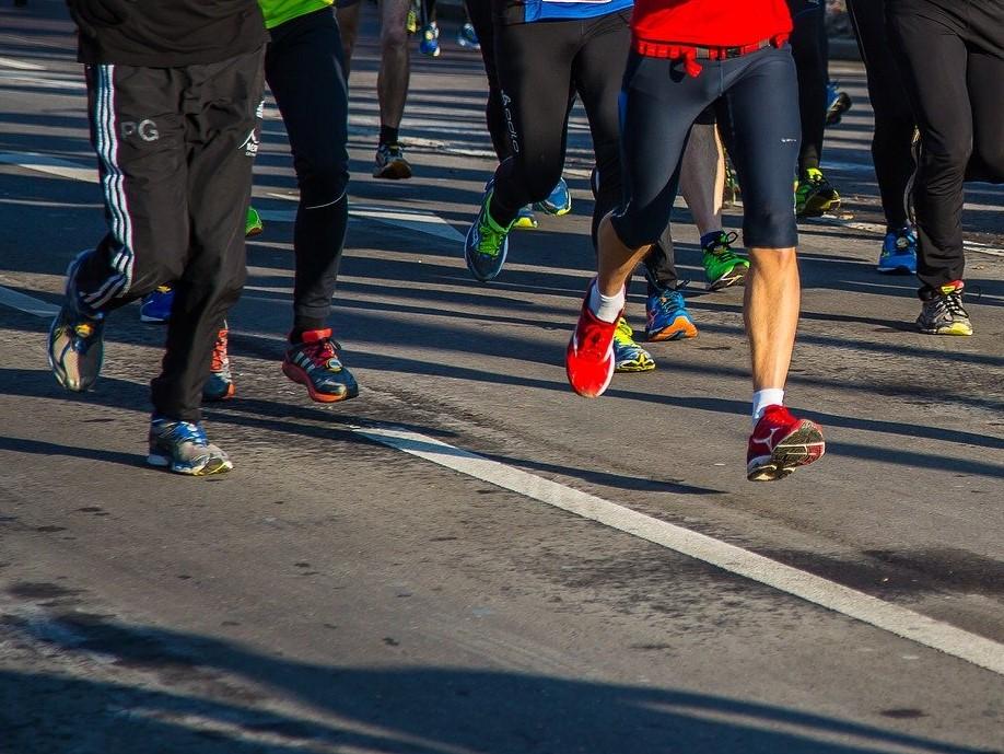 bieganie maraton stock - Pixabay