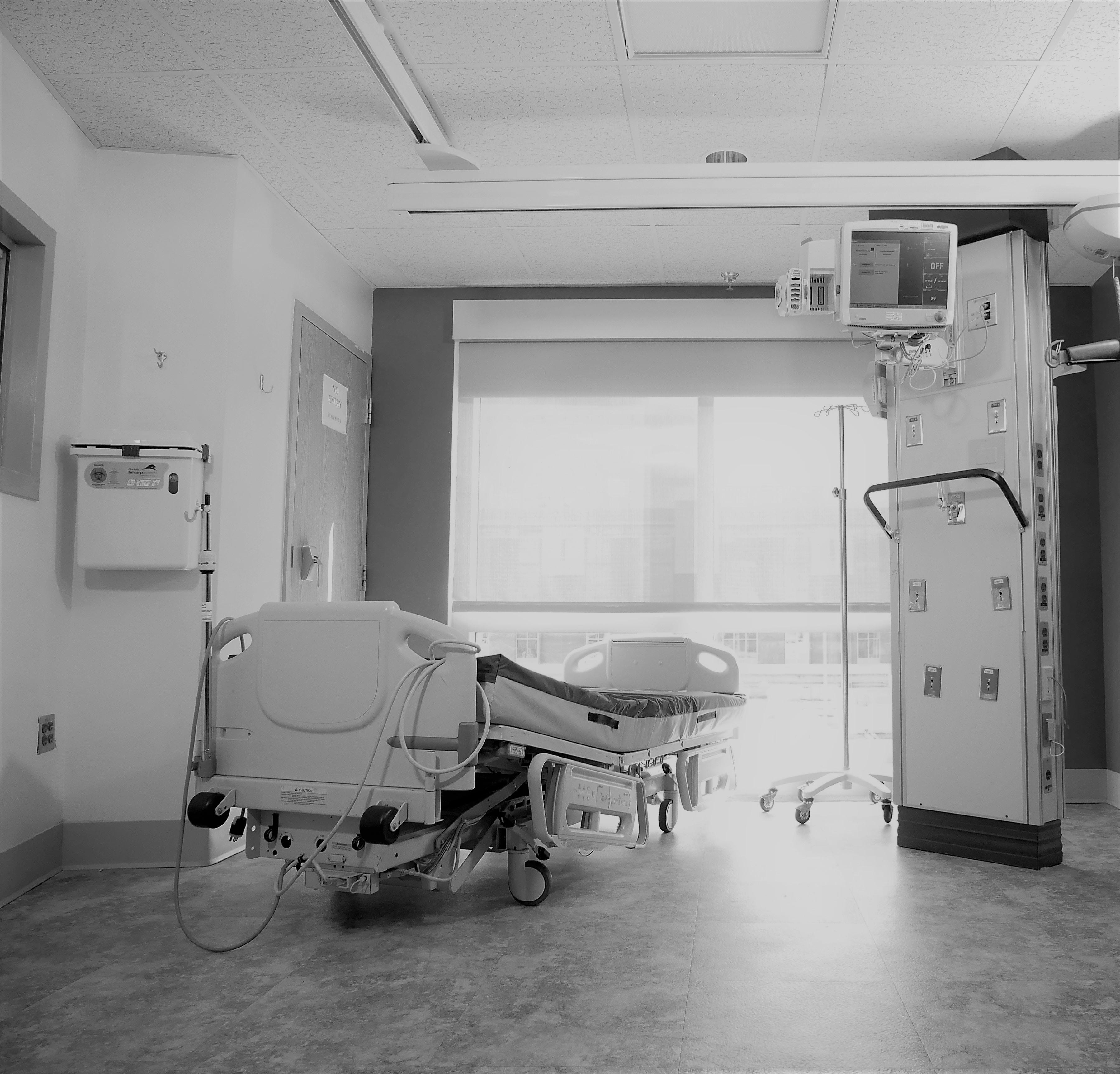łóżko szpital - Pexels
