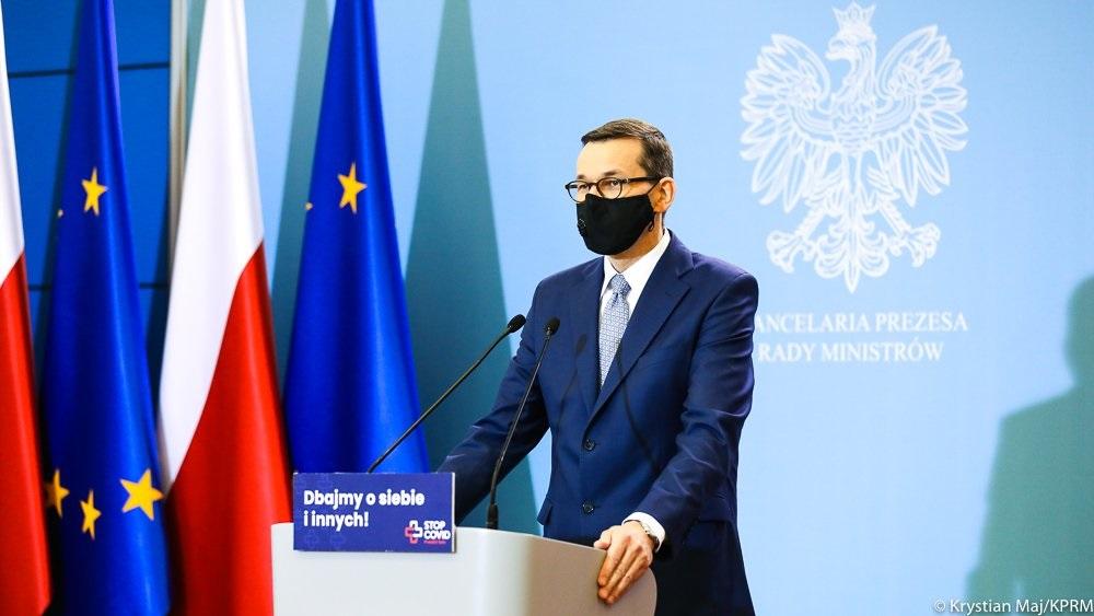 premier mateusz morawiecki - KPRM