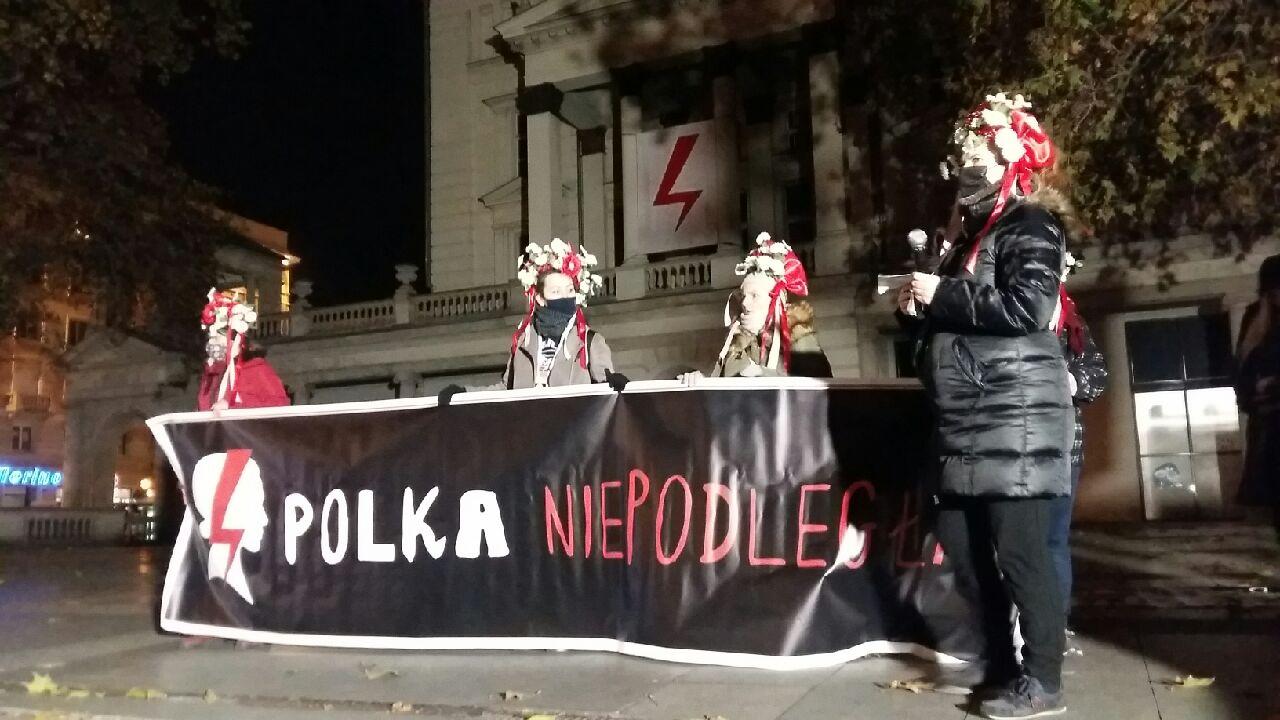 protest poznań plac wolności  - Magdalena Konieczna