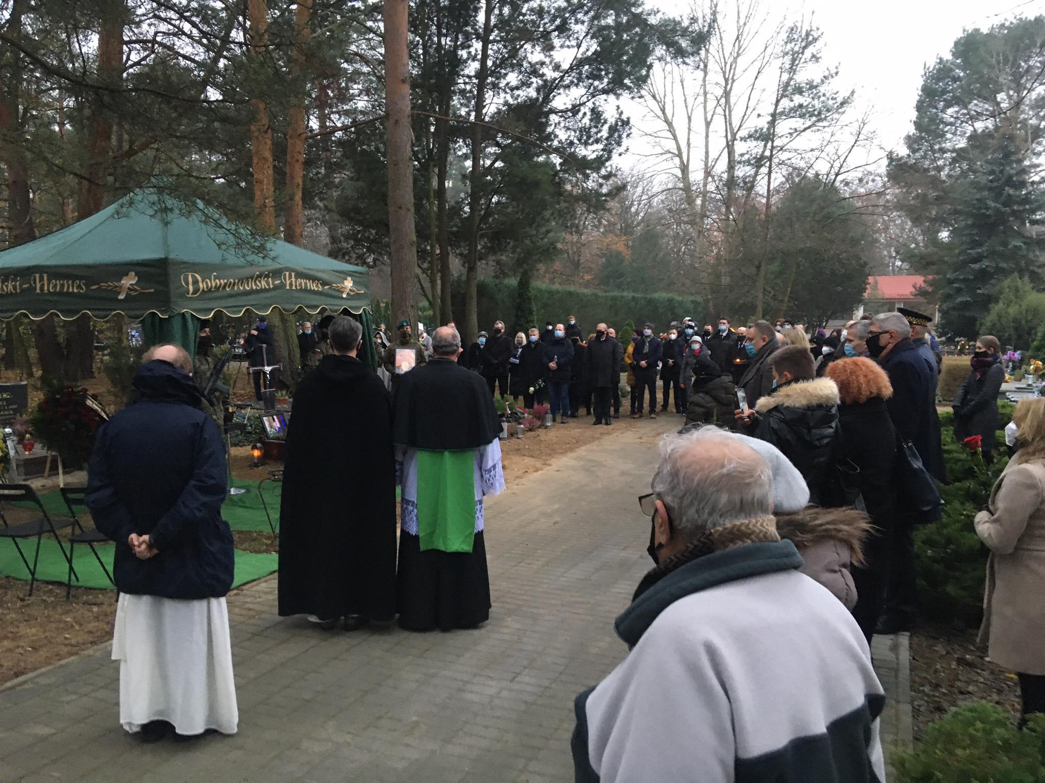 pogrzeb  Roberta Gamble'a - Jacek Butlewski