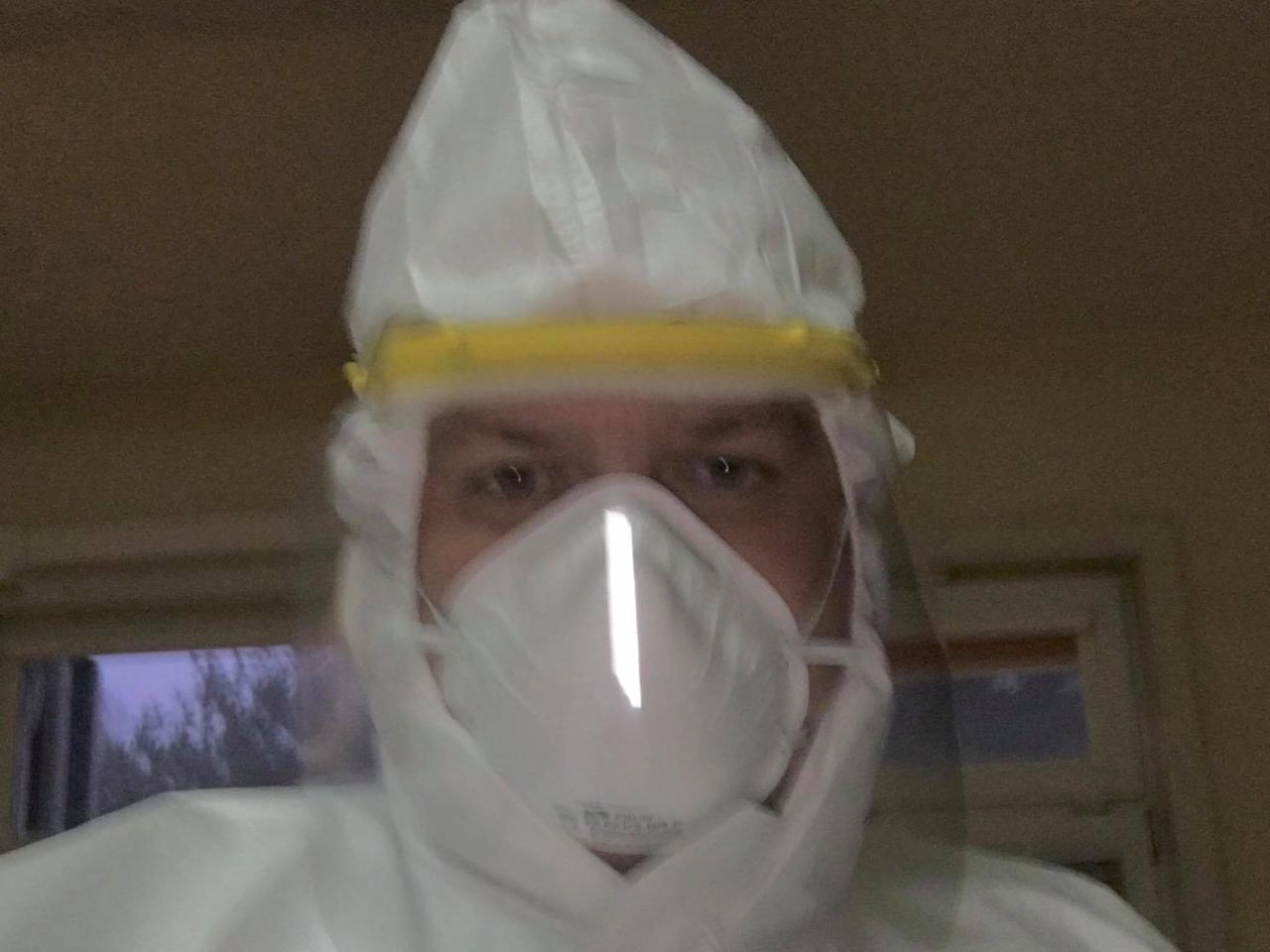 marcin porzucek szpital wolontariusz - archiwum prywatne