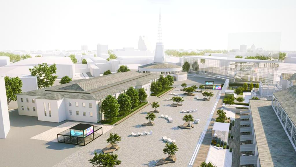 targi poznań nowy parking - Materiały Prasowe