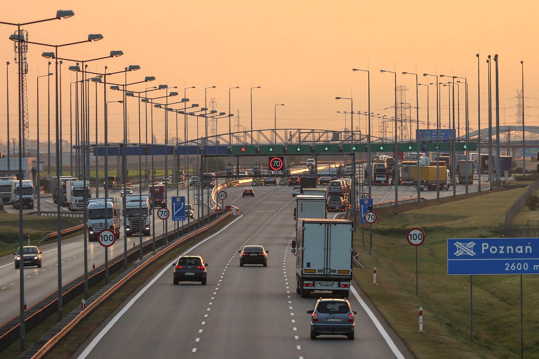 a2 autostrada bramki - MotoSygnały