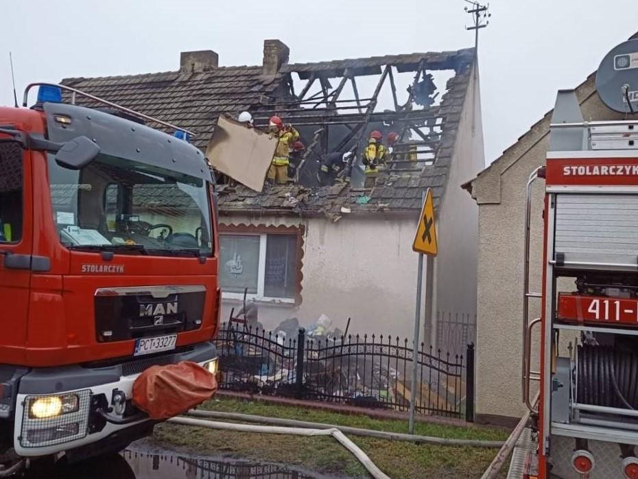pożar domu białężyn zbiórka pieniędzy - JRG Czarnków/OSP Huta