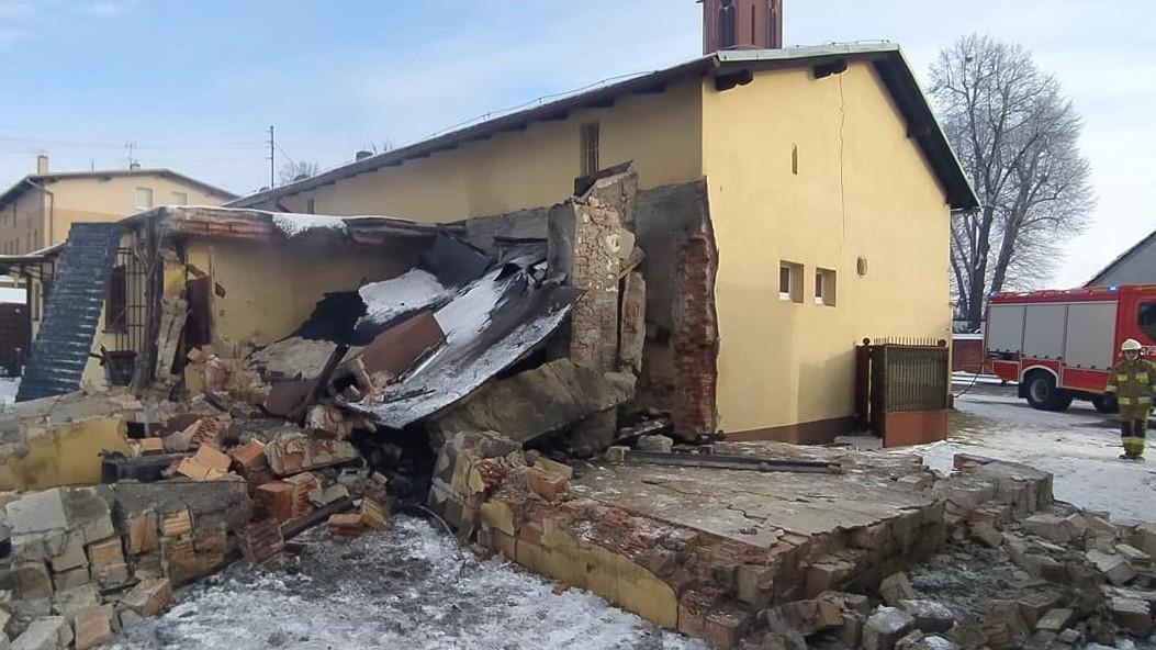 wybuch kotła pakosław  - Komenda Powiatowa Państwowej Straży Pożarnej w Rawiczu