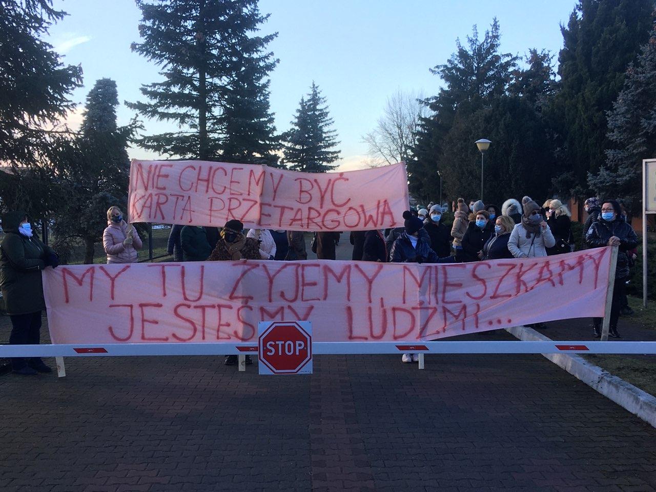 gniezno zol dziekanka protest - Rafał Muniak - Radio Poznań