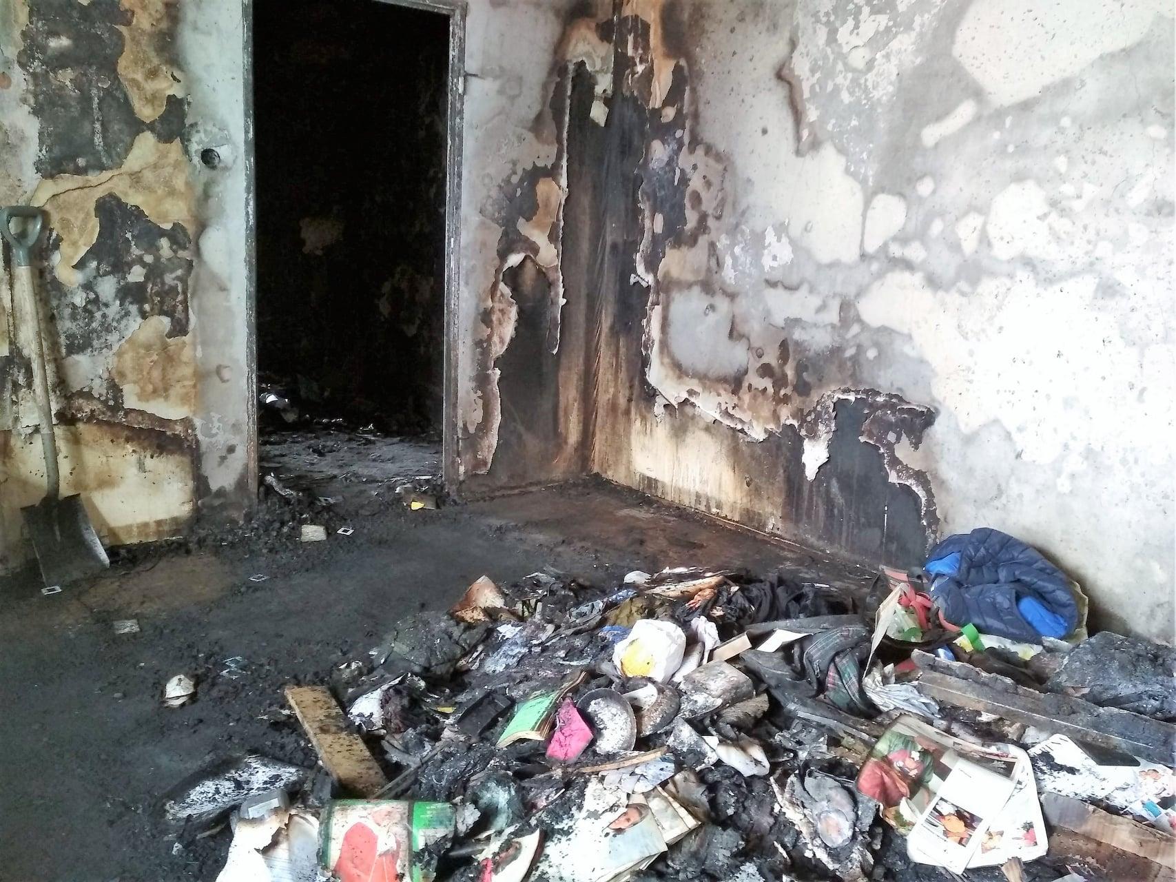 FB: Pożar na Osiedlu Kopernika - Pomoc