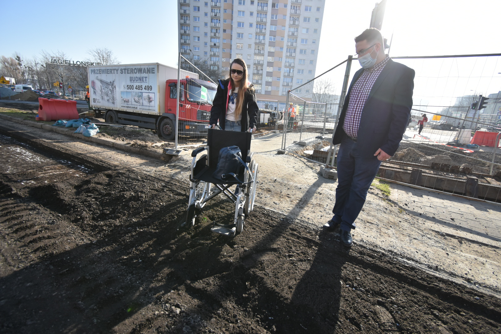 rondo rataje niepełnosprawni - Wojtek Wardejn
