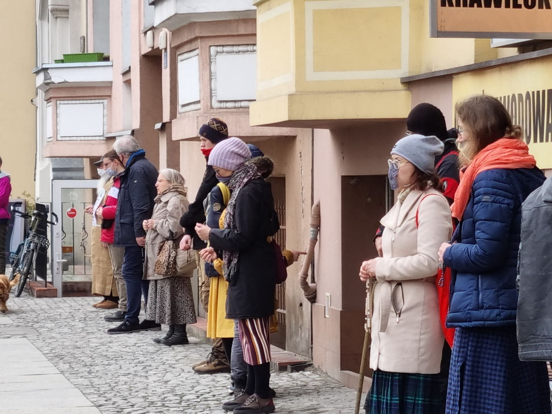 działacze pro life modlitwa klinika przy polnej - Magdalena Konieczna