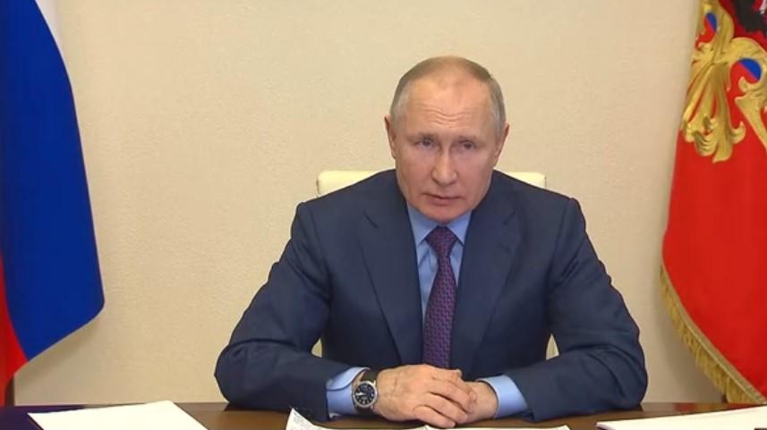 vladimir putin  - Screen/www.kremlin.ru