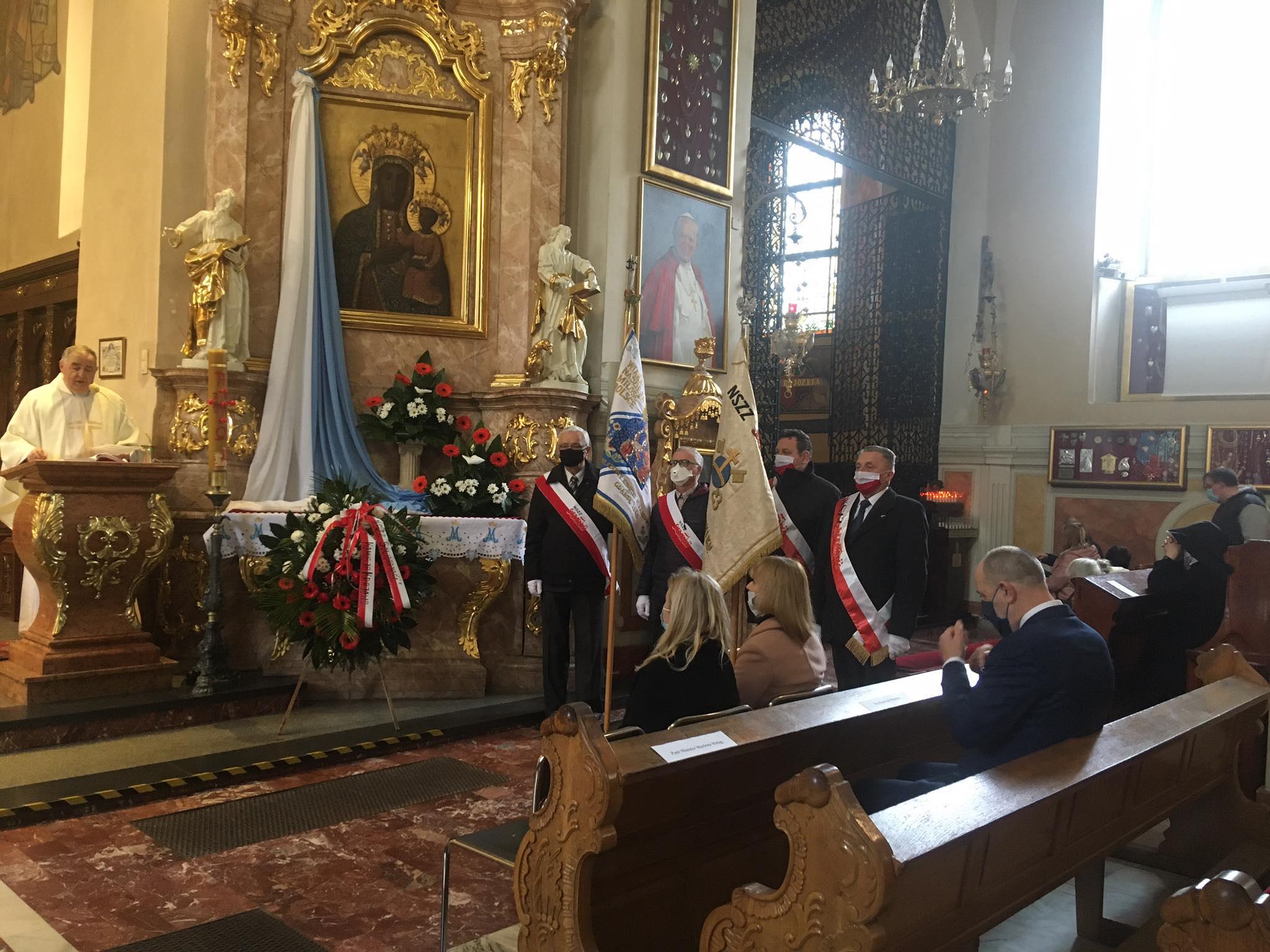 Sanktuarium św. Józefa w Kaliszu pielgrzymka 1 maja pielgrzymka robotników - Danuta Synkiewicz